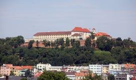 Brno. Wiev of Brno castle (Spilberk royalty free stock photography