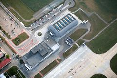 Brno airport Royalty Free Stock Photos