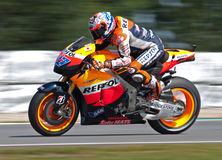 BRNO - Casey Stoner - Repsol Honda team Royalty Free Stock Image