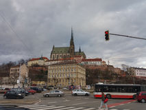 Brno cathedral church Royalty Free Stock Photography
