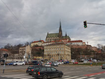 Brno cathedral church Royalty Free Stock Image