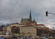 Brno cathedral church Stock Images