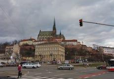 Brno cathedral church Stock Photos