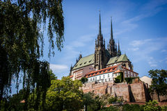 Brno Cathedral Royalty Free Stock Image