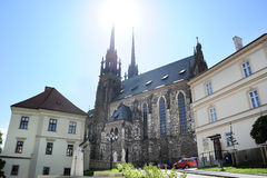 Brno Cathedral Stock Photo