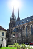 Brno Cathedral Stock Photography