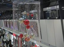 Brno, Checo república-dezembro 12,2014: Decorações do Natal em s Imagem de Stock Royalty Free
