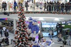 Brno, Checo república-dezembro 12,2014: Decorações do Natal em s Foto de Stock Royalty Free