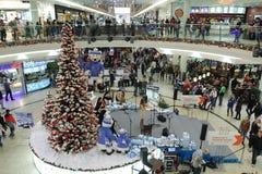 Brno, Checo república-dezembro 12,2014: Decorações do Natal em s Fotografia de Stock Royalty Free