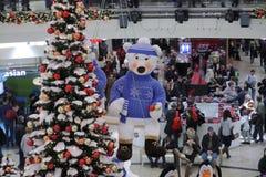 Brno, Checo república-dezembro 12,2014: Decorações do Natal em s Imagens de Stock Royalty Free