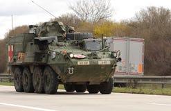 Brno, Checo República-março 30,2015: Passeio do Dragoon - trem do exército dos EUA Imagem de Stock