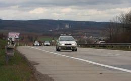 Brno, Checo República-março 30,2015: Passeio do Dragoon - trem do exército dos EUA Fotografia de Stock Royalty Free