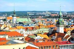 Brno cityscape Stock Photos