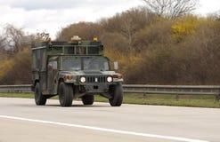 Brno, czech marzec 30,2015: Dragon przejażdżka - wojsko usa konwój Obrazy Stock