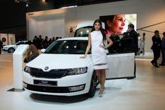 Skoda Octavia 3rd Generation on display at the 11th edition of International Autosalon Brno Stock Photos