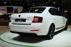 Skoda Octavia 3rd Generation on display at the 11th edition of International Autosalon Brno Stock Photography