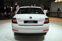 Skoda Octavia 3rd Generation on display at the 11th edition of International Autosalon Brno Royalty Free Stock Image