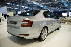 Skoda Octavia 3rd Generation on display at the 11th edition of International Autosalon Brno Stock Photo