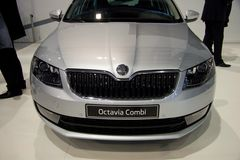 Skoda Octavia 3rd Generation on display at the 11th edition of International Autosalon Brno Stock Image