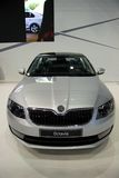 Skoda Octavia 3rd Generation on display at the 11th edition of International Autosalon Brno Royalty Free Stock Images