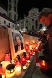 BRNO, CZECH REPUBLIC, DECEMBER 18: Hundreds of peo Stock Photos