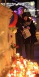 BRNO, CZECH REPUBLIC, DECEMBER 18: Hundreds of peo Royalty Free Stock Image