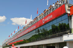 BRNO,CZECH REPUBLIC-JUNE 5: main stands Royalty Free Stock Images