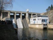 Brno dam in de Tsjechische Republiek Stock Foto