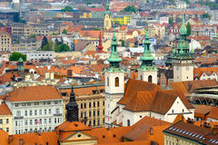 Brno day time old city landscape Royalty Free Stock Photography