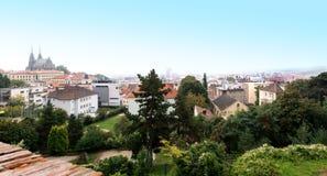 Brno es segundo mayor ciudad en República Checa Foto de archivo libre de regalías