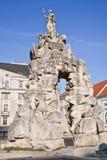 Brno. A fountain is Parnassus. 1695 year Stock Photos
