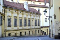 Brno gata Royaltyfria Bilder