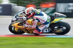 BRNO - Hauptrennen von Moto2 Stockfotografie