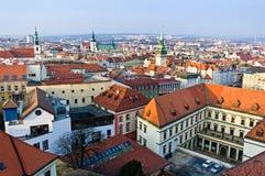 Brno historic center Royalty Free Stock Photography