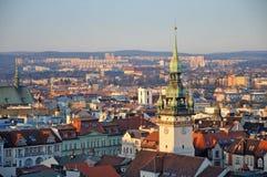 Brno horizon Royalty-vrije Stock Foto's