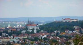 Brno - landskap Royaltyfria Bilder