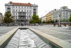 Brno levende straat Stock Foto's