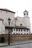 Brno, the main entrance in Spilberk castle Stock Images