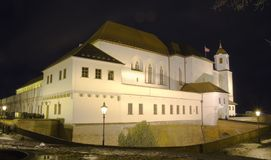 Brno miasto republika czech - Spilberk kasztel, Środkowy Europa - Zdjęcie Stock