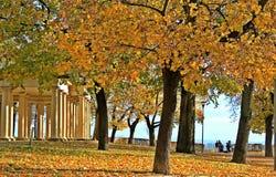 Brno, otoño anaranjado Fotografía de archivo