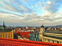 Brno Panorama Royalty Free Stock Photography