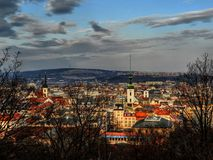 Brno Panorama 2 Royalty Free Stock Images