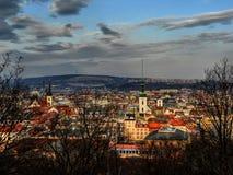 Brno Panorama 2 Royalty Free Stock Images