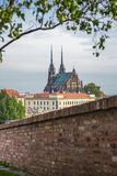 Brno, Petrov Cathedral Royalty Free Stock Images