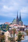 Brno Petrov Cathedral Royalty Free Stock Photo