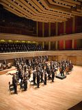 Brno Philharmonic Orchestra perform Royalty Free Stock Image