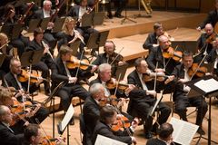 Brno Philharmonic Orchestra perform Stock Image