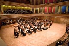 Brno-philharmonisches Orchester führen durch Lizenzfreies Stockbild