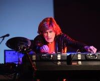 BRNO, RÉPUBLIQUE TCHÈQUE, 12 NOVEMBRE : Concert sous tension de Photographie stock
