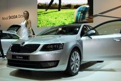 3ème génération de Skoda Octavia sur l'affichage à la 11ème édition d'Autosalon international Brno Photos stock